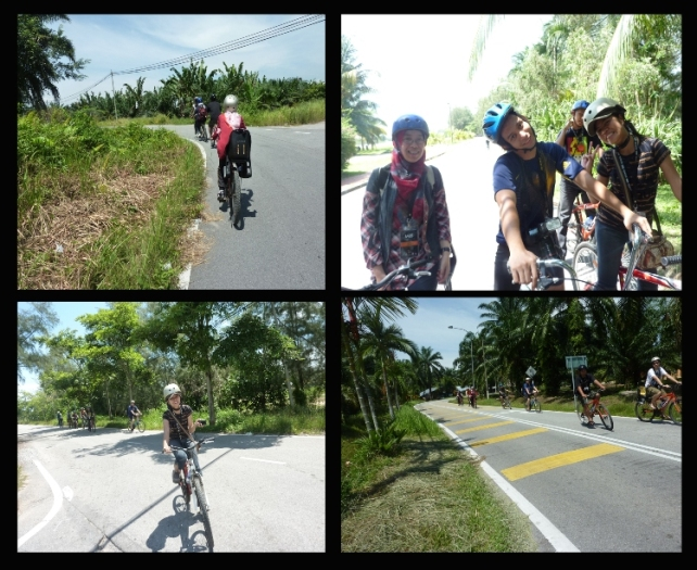 cycling around resort