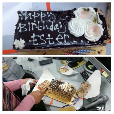 bda cake